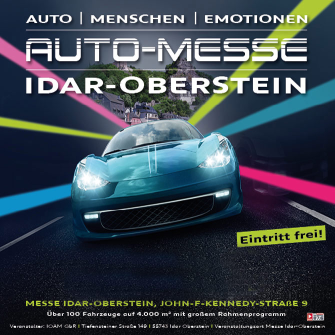 Automesse Idar-Oberstein – 16. & 17. März 2019