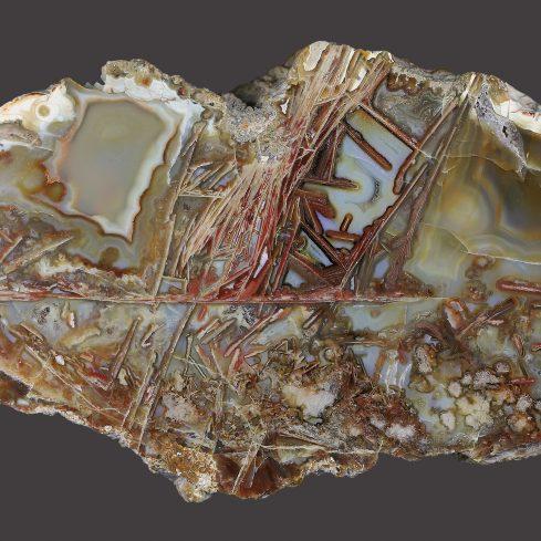 MineralienWelt Idar-Oberstein - © Patricia Hemmer, Achat Aus Der Kiesgrube Baden-Baden Sandweier
