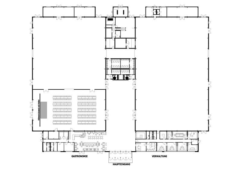 Festliche Anlässe, Weihnachtsfeier, Betriebsfeier – Beispiel Bankettbestuhlung In Halle 3 Bis Zu 300 Sitzplätze