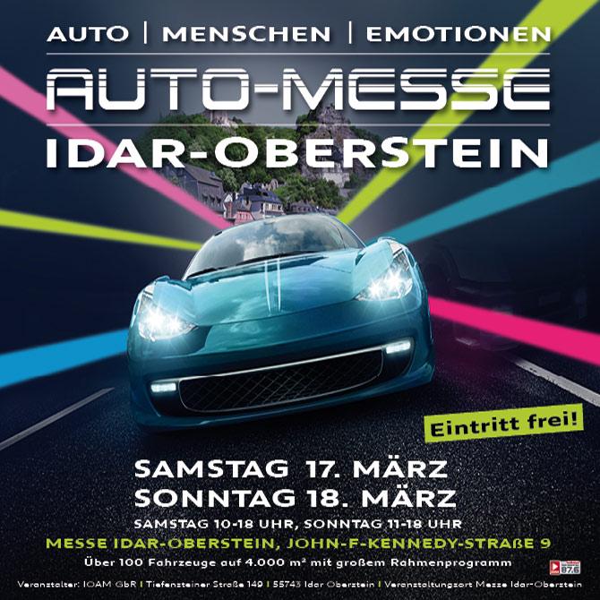 Automesse Idar-Oberstein – 17. & 18. März 2018