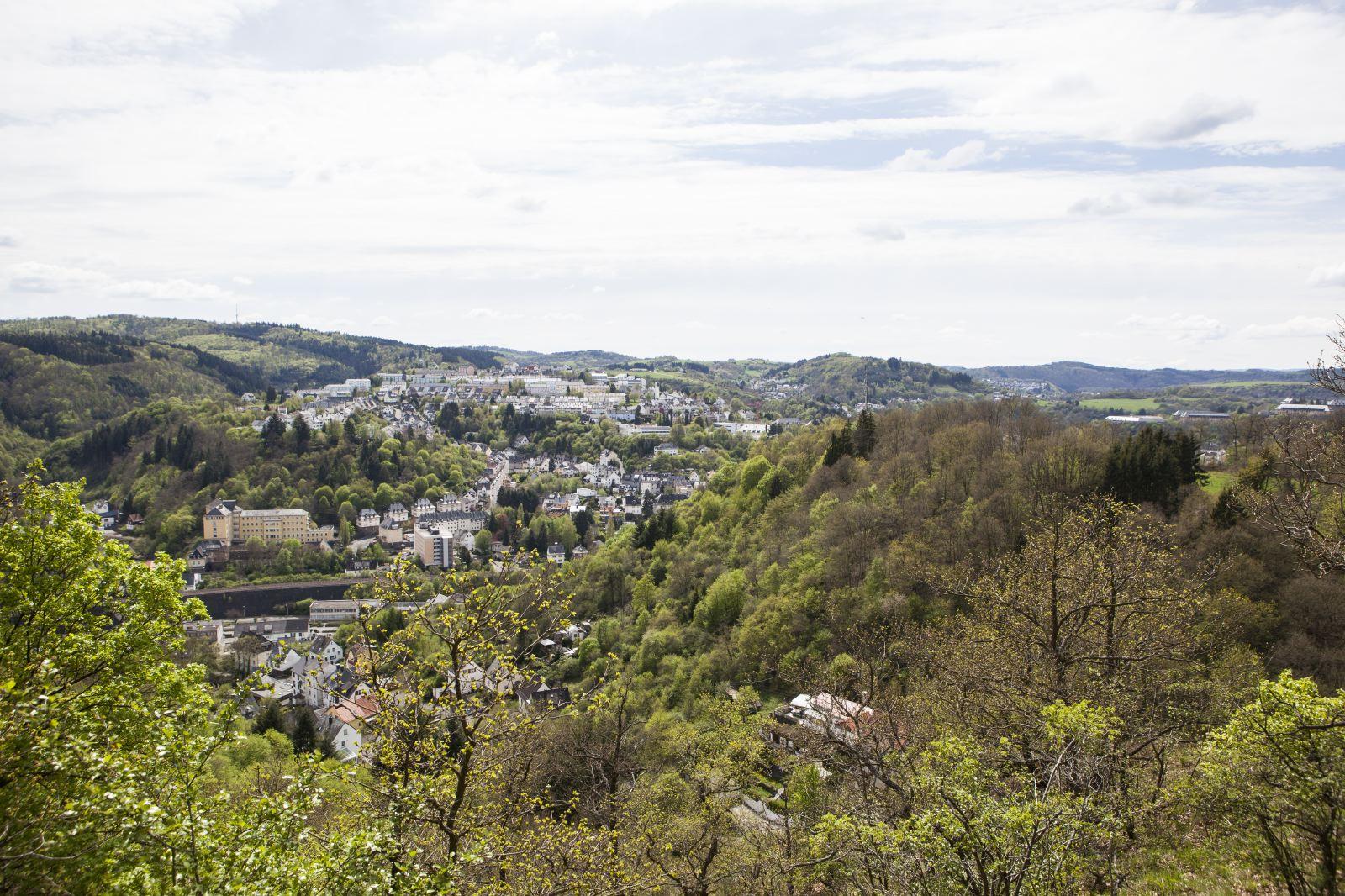 Impression Blick auf Oberstein Nahe Felsen Weg - Foto © Eike Dubois,PHORMAT