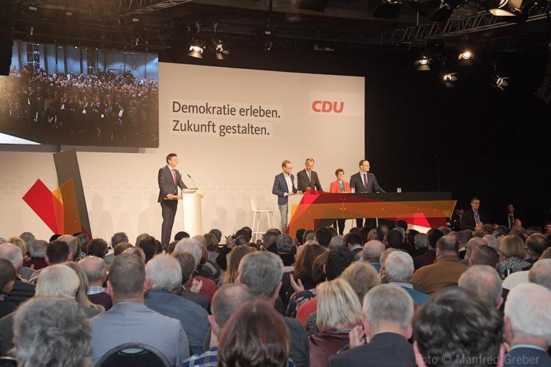 Messe CDU Regio-Konferenz - Foto © Manfred Greber
