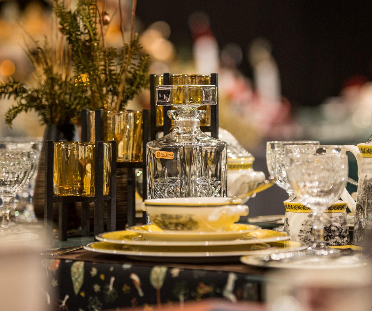 Hier Findet Man Edles Glas Und Porzellan Für Den Perfekt Gedeckten Tisch. (Foto: Sebastian Görner)